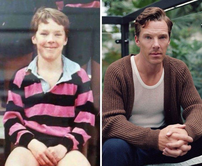 Они выросли и перестали быть похожими на свои детские фотографии