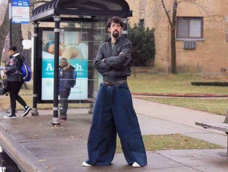 Ох уж эта уличная мода, куда ты побежала, остановись...